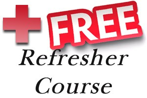 Free First Aid Refresher courses Sunshine Coast in Noosa Tewantin Maroochydore Cooroy Coolum Gympie