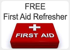 Free First Aid courses Sunshine Coast in Noosa Tewantin Cooroy Nambour Maroochydore, Gympie Coolum